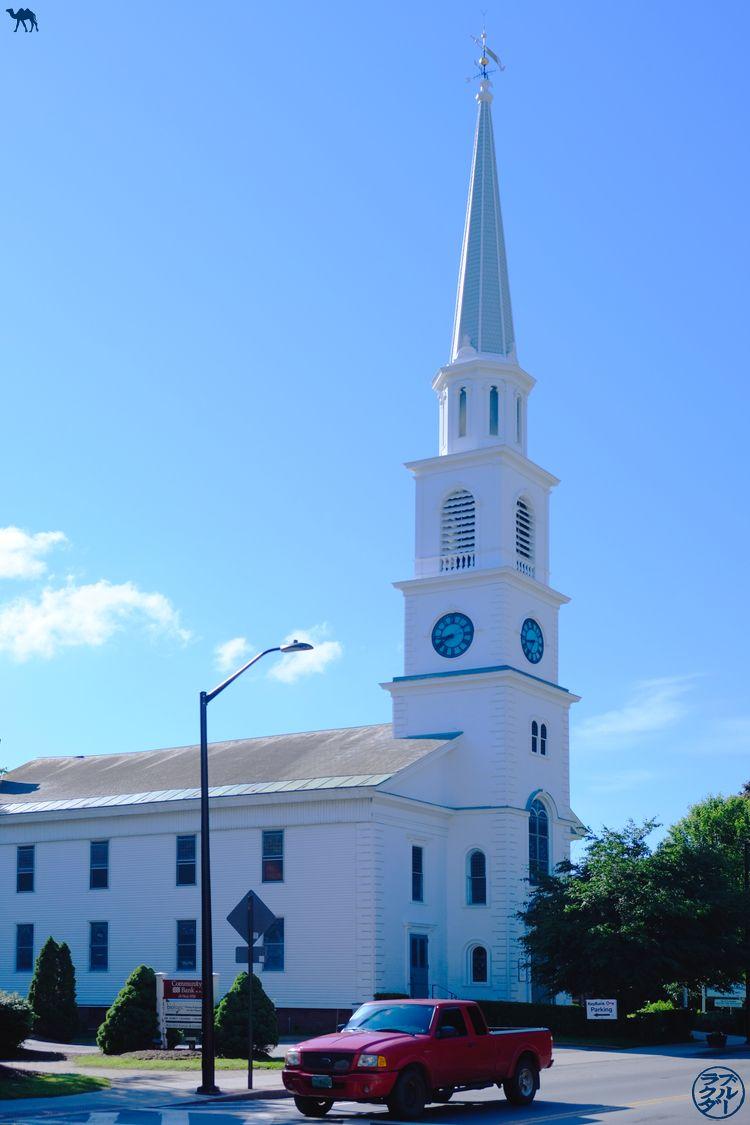 Le Chameau Bleu - Blog Voyage Vermont - Eglise de Brattleboro