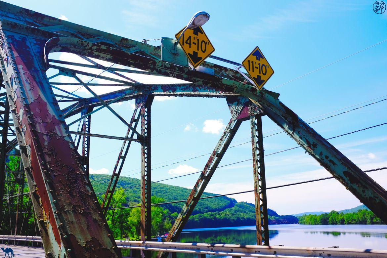 Le Chameau Bleu - Blog Voyage Vermont Brattleboro et son pont