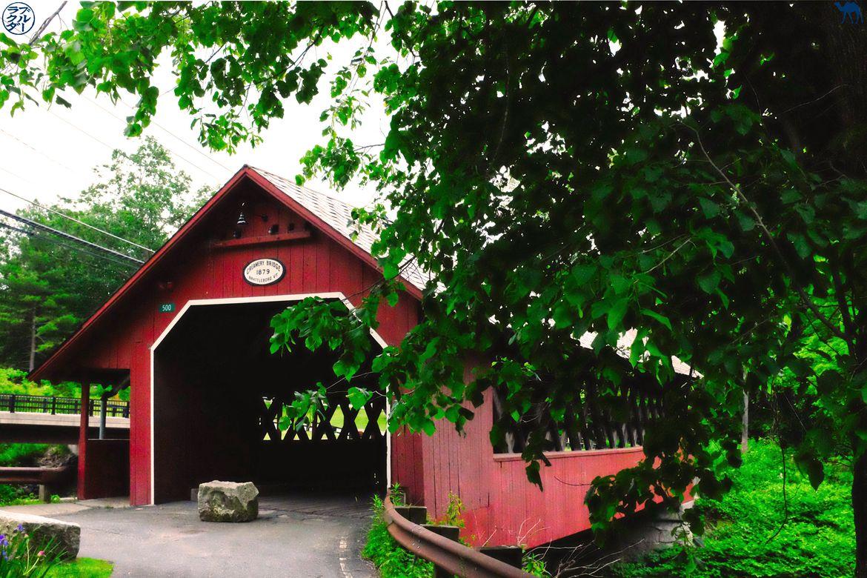 Le Chameau Bleu - Blog Voyage Bratlleboro - Pont Rouge