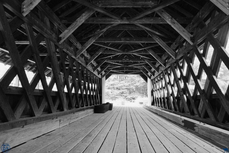 Le Chameau Bleu - Blog Voyage Brattleboro Vermont USA - Pont de Brattleboro