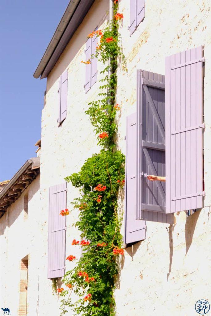 Le Chameau Bleu - Blog Voyage et Cuisine - Fenetre Lauzerte - Tarn Et Garonne