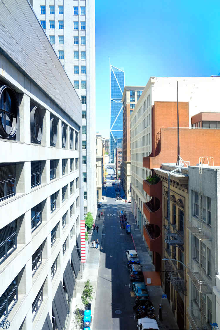 Le Chameau Bleu - Blog Voyage Musée d'art moderne de San Francisco - Vue depuis le SFMOMA