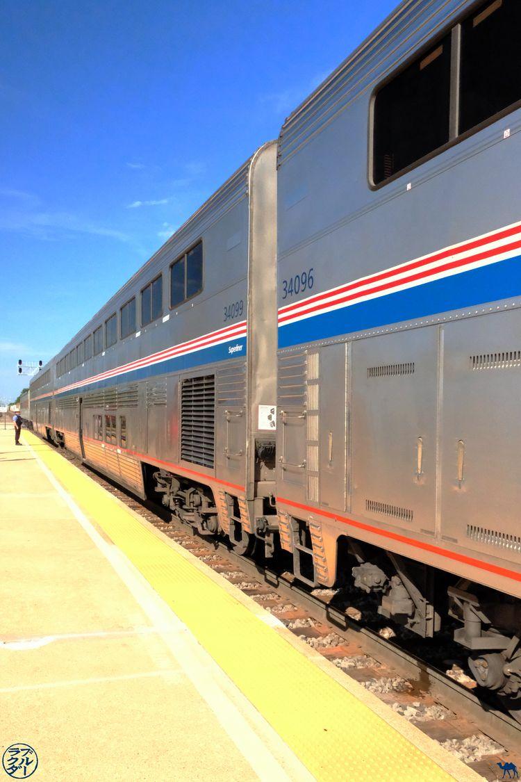 Le Chameau Bleu - Blog Voyage Zephyr Line USA - Wagon du train