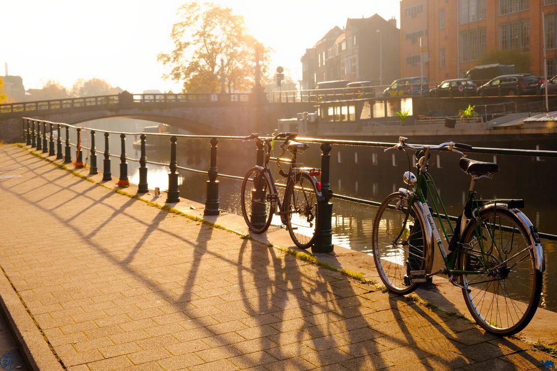 Le Chameau Bleu - Blog Week End à Gand - Vélo à Gand en Automne