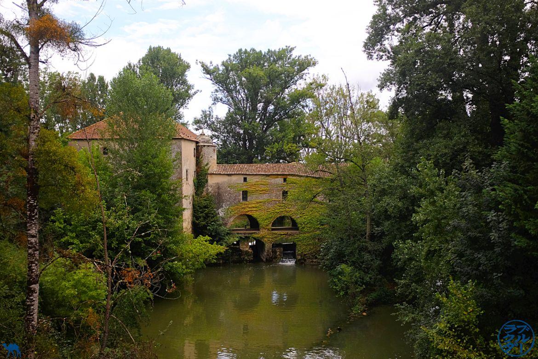 Le Chameau Bleu - Blog Voyage à vélo en Gironde - Décor du Canal des deux mers à vélo