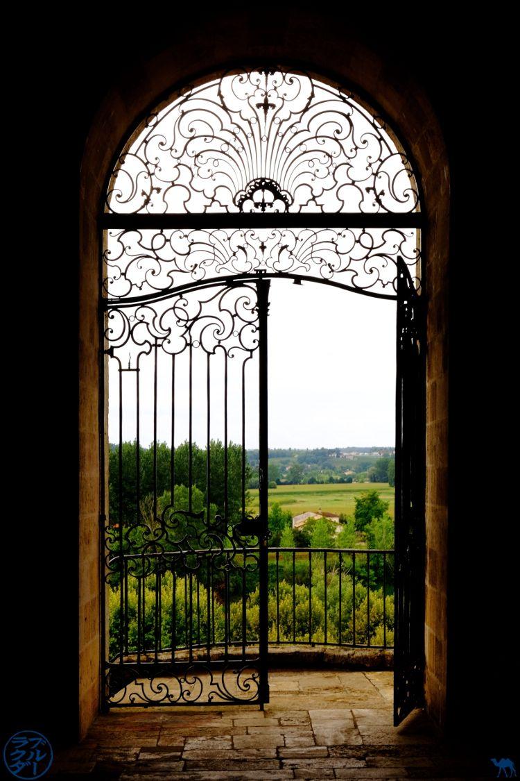 Le Chameau Bleu - Blog Voyage à vélo en Gironde - Ferronnerie de l'Abbaye des bénédictins de La Réole